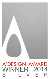 Silver design Award 2014 for design ANGLE washbasin