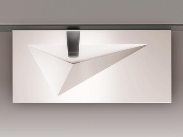 дизайн раковины с невидимым сливом от ARCHITIME design group
