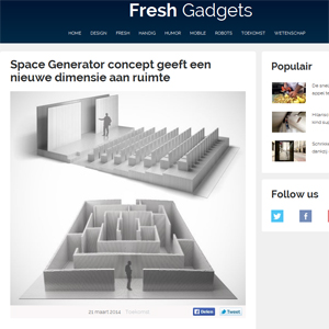 freshgadgets.nl about malitskie and architime design group