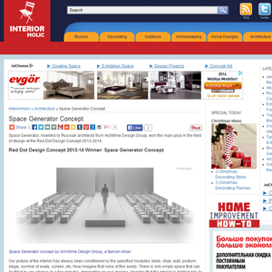 interiorholic.com about malitskie and architime design group