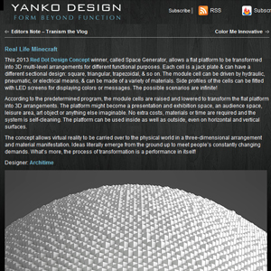 yankodesign.com about malitskie and architime design group