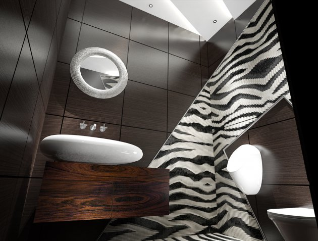 Interior for penthouse, Polyanka str., Moscow
