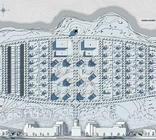 Project for the dormitory suburb