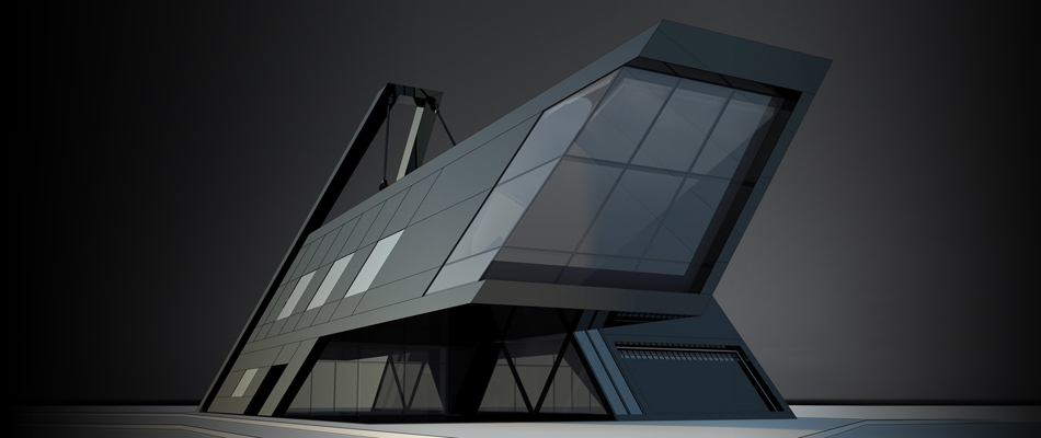 Award project - the Brutal house