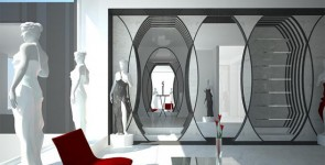 Concept for fashion boutique, Vienna