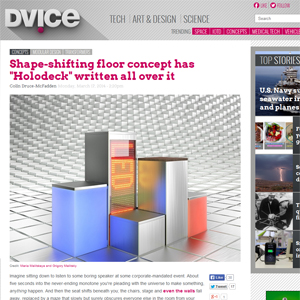 Dvice.com about malitskie and architime design group
