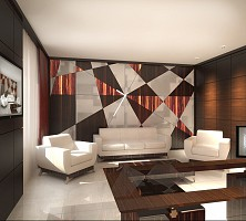 Interior for office-showroom