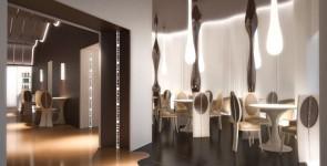 Interior for CHOKO cafe